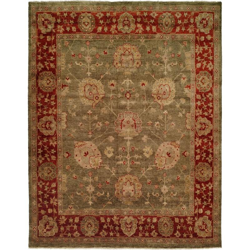 9 X 12 Nourison Nourmak Hand Knotted 100 Wool Persian: Kalaty Oushak OU-415
