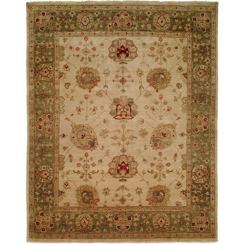 9 X 12 Nourison Nourmak Hand Knotted 100 Wool Persian: Kalaty Oushak OU-419