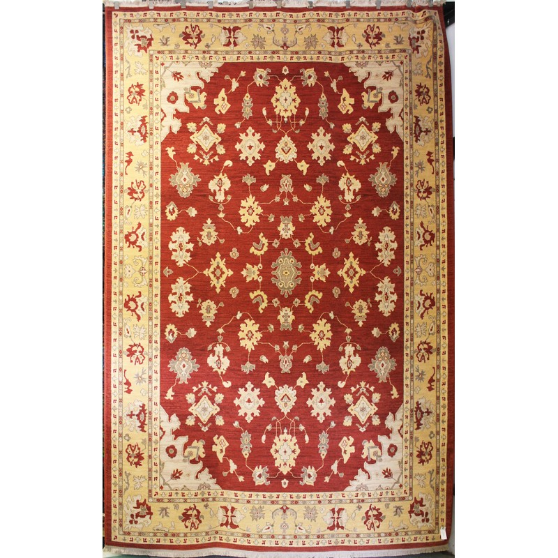 Antique Red Oushak 700 725