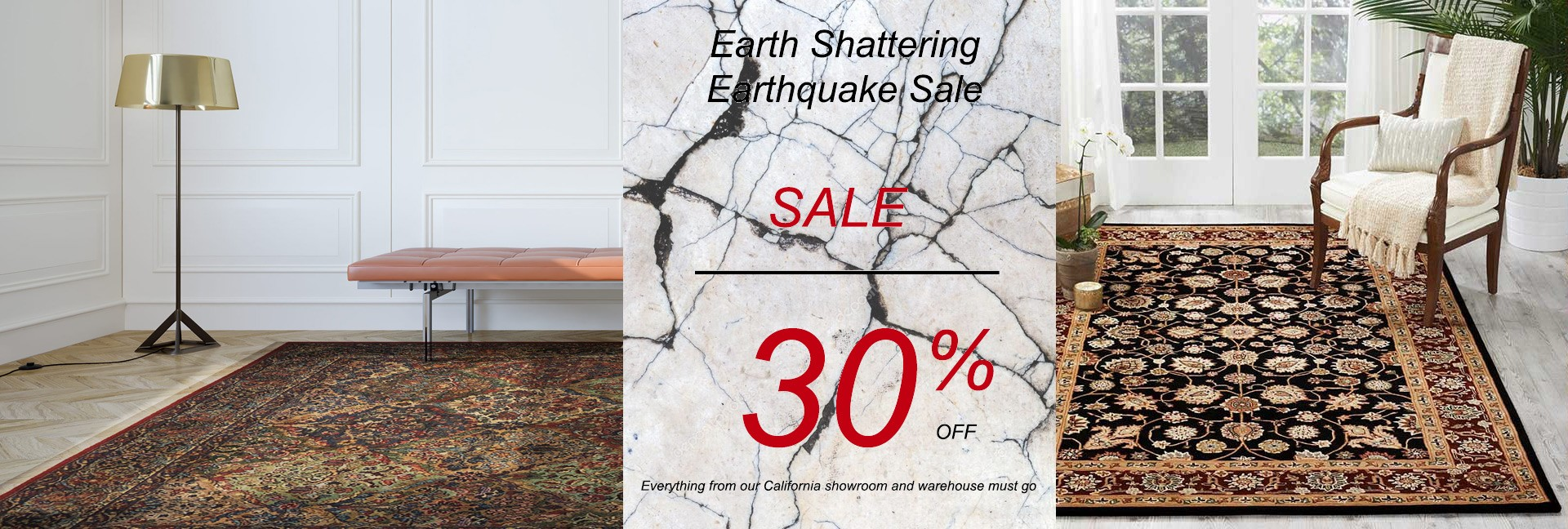 Earthquake Sale